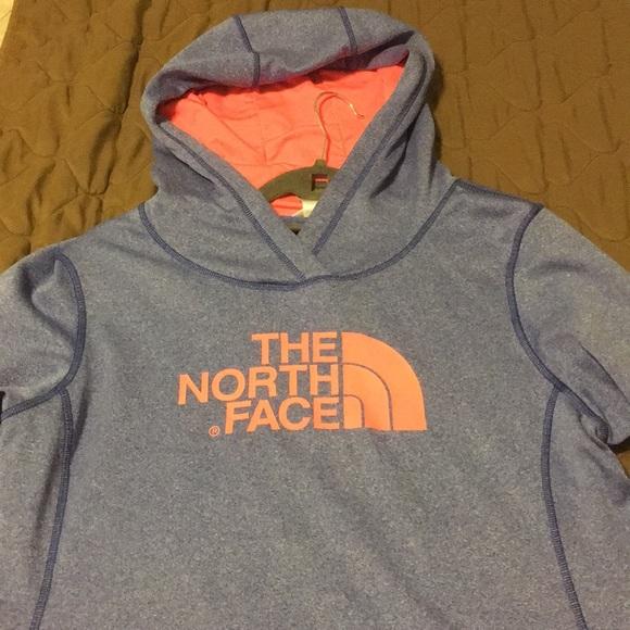 North face Large  hoodie purple pink
